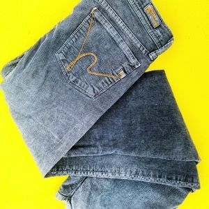 CITIZENS OF HUMANITY 27 corduroy bell bottom jeans